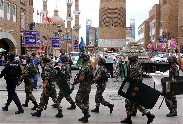çin uygur özerk bölgesi doğu türkistan