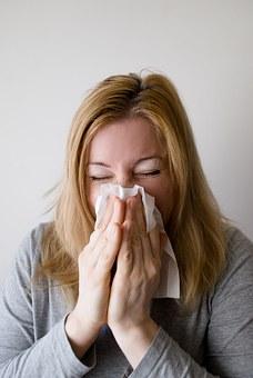 hasta kadın grip